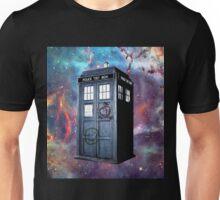 tardis box galxy Unisex T-Shirt