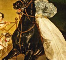 Karl Bryullov (Bryullo) - A Rider (1832)  Sticker