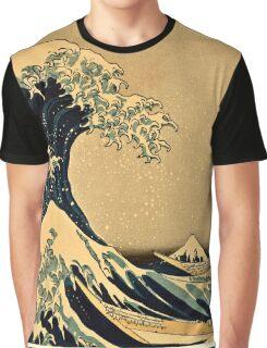 Katsushika Hokusai - The Great Wave Off the Coast of Kanagawa 19th century Graphic T-Shirt