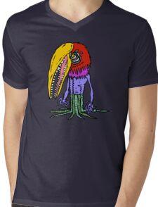 Beakface Tanglefist Mens V-Neck T-Shirt