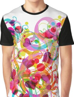 Heart colorful Graphic T-Shirt