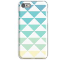 Gradient Triangle Pattern iPhone Case/Skin