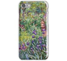 Claude Monet - The Artist s Garden In Giverny 1900  iPhone Case/Skin