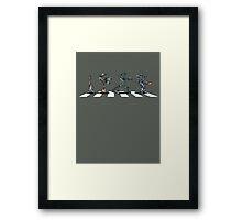 Abbey Robots Framed Print