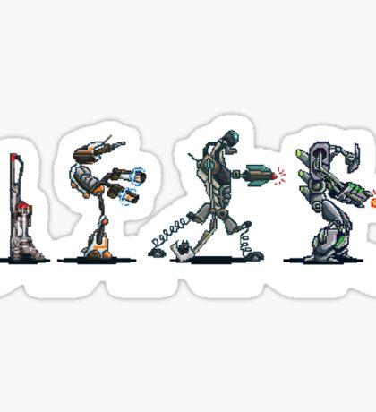 Abbey Robots Sticker
