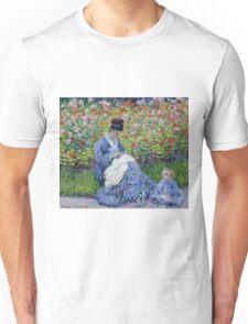 Claude Monet - Madame Monet And Child Unisex T-Shirt