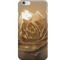 duct tape rose iPhone Case/Skin