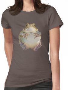 Flying Toad Womens Fitted T-Shirt