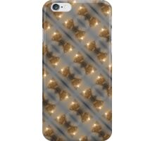 duct tape rose pattern iPhone Case/Skin