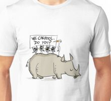 Carpooling Humour Unisex T-Shirt