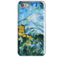 Paul Cezanne - Mont Sainte Victoire and Chateau Noir (1904 - 1906)  iPhone Case/Skin