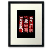 THREE HEROES Framed Print