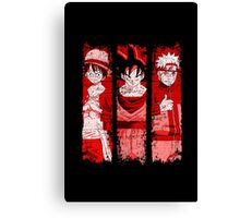 THREE HEROES Canvas Print
