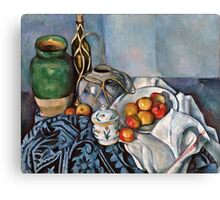 Paul Cezanne - Still Life with Apples (1893 - 1894)  Canvas Print