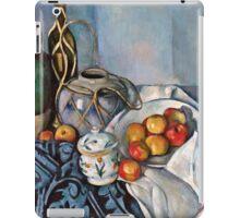 Paul Cezanne - Still Life with Apples (1893 - 1894)  iPad Case/Skin