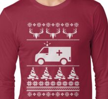 Emergency Driver Ugly Sweater Long Sleeve T-Shirt