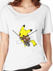 Shingeki No Pika! Women's Relaxed Fit T-Shirt