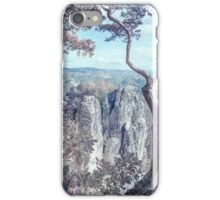 Nostalgic Romantic. Saxon Switzerland iPhone Case/Skin