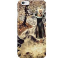 Spirits of the Water {Digital Fantasy Figure Illustration} Autumn Colour Mix iPhone Case/Skin