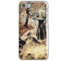 Spirits of the Water {Digital Fantasy Figure Illustration} Autumn Colour Mix iPhone Case/Skin