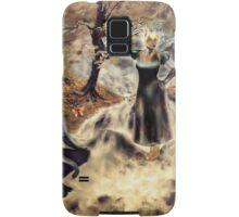 Spirits of the Water {Digital Fantasy Figure Illustration} Autumn Colour Mix Samsung Galaxy Case/Skin
