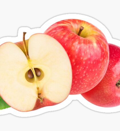 Red apples Sticker