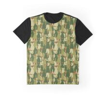 Military texture of cats Graphic T-Shirt
