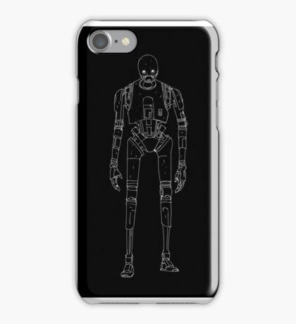 Star Wars K-2SO K-2S0 Rogue One Minimal iPhone Case/Skin