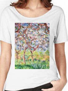 Claude Monet - Printemps A Giverny 1903  Women's Relaxed Fit T-Shirt