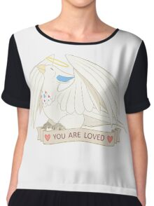 You Are Loved Chiffon Top