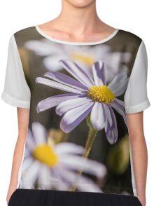 Flowers  Chiffon Top