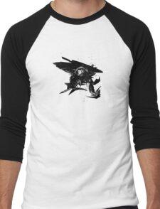 natural abstract Men's Baseball ¾ T-Shirt