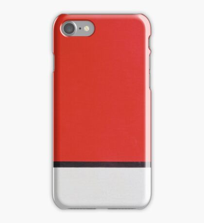 Piet Mondriaan - Mondrian Composition Ii In Red Blue And Yellow iPhone Case/Skin