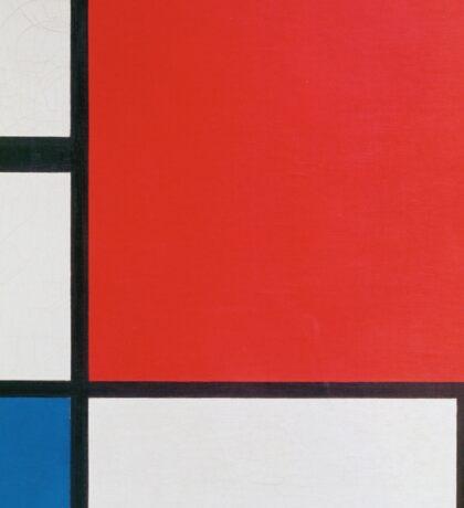 Piet Mondriaan - Mondrian Composition Ii In Red Blue And Yellow Sticker