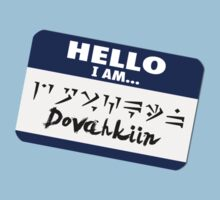 Hello I am - Dovahkiin by nyaell