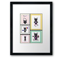 Cat Story Framed Print