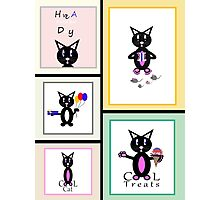 Cat Story Photographic Print