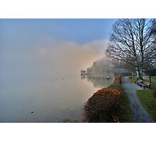 Shore in the Fog Photographic Print