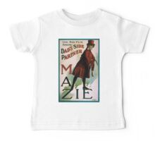 Performing Arts Posters The big fun show Dads side partner Mazie 0037 Baby Tee
