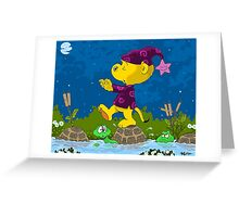Ferald Sleepwalking Greeting Card