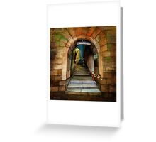 'The Way to The Castle' Greeting Card