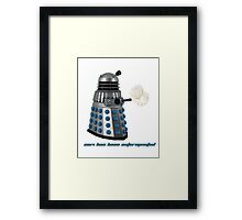 2014 has been exterminated  Framed Print