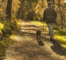 Walking the Dog by Elaine Teague