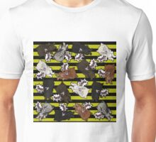 Swearwolves - yellow Unisex T-Shirt