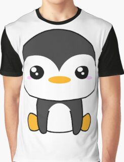Cute Penguin Graphic T-Shirt