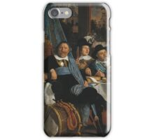 Bartholomeus Van Der Helst - Banquet Of The Amsterdam Civic Guard In Celebration Of The Peace Of Munster iPhone Case/Skin