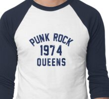 Punk Rock Men's Baseball ¾ T-Shirt