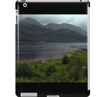 Misty mountains across Loch Ailort iPad Case/Skin