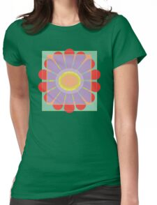 Transluscence Flower Womens Fitted T-Shirt