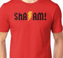 SHA/AM! (black) Unisex T-Shirt